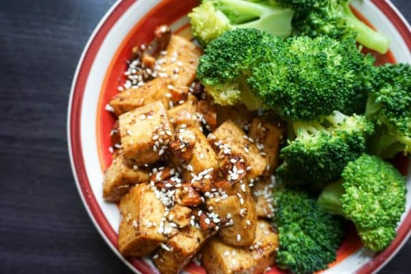 Spicy Almond Tofu Ketoconnect