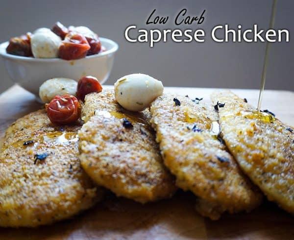 caprese chicken pinterest