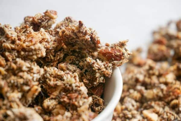 keto granola other angle