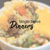 Single Serve Keto Dinners