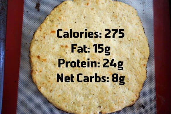 keto pizza cauliflower nutrition