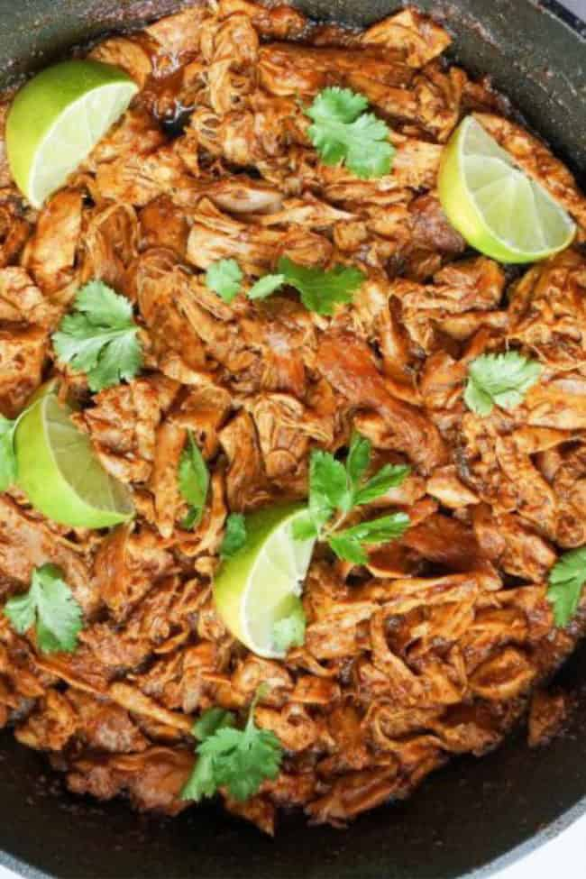 mexican shredded chicken recipe