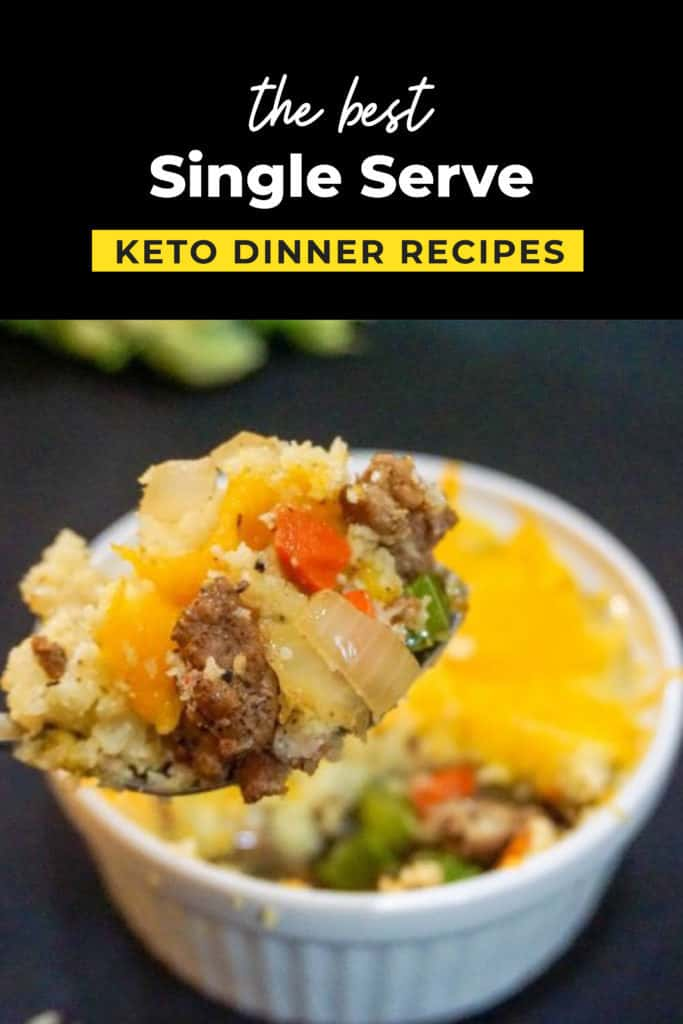 Single Serve Keto Dinners While Matt Was Away Ketoconnect