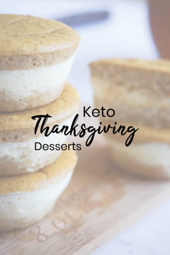 Keto Thanksgiving Desserts