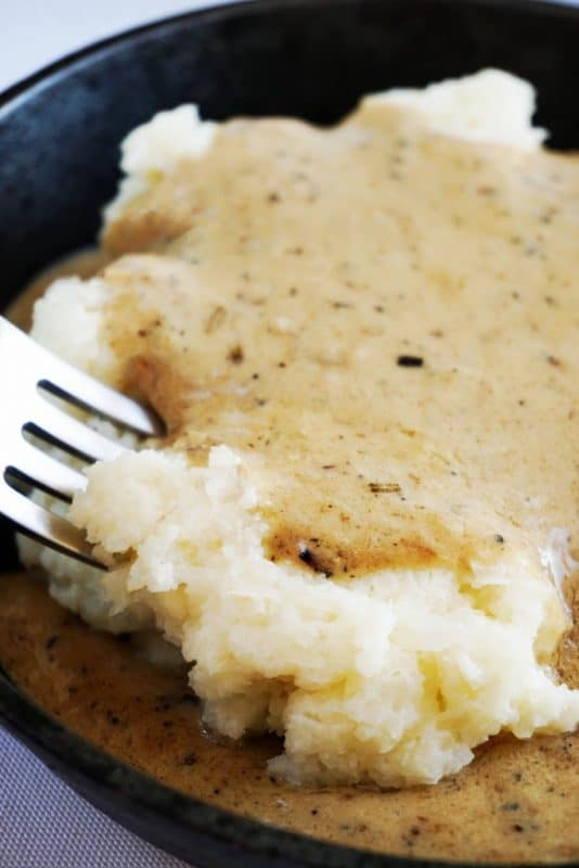 creamy cauliflower mash fork final