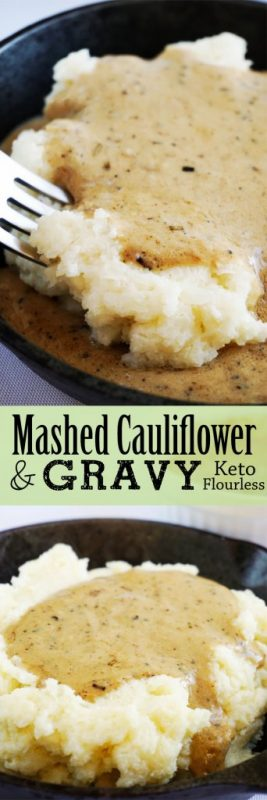 This Creamy Cauliflower Mash is the perfect healthy substitute to mashed potatoes.