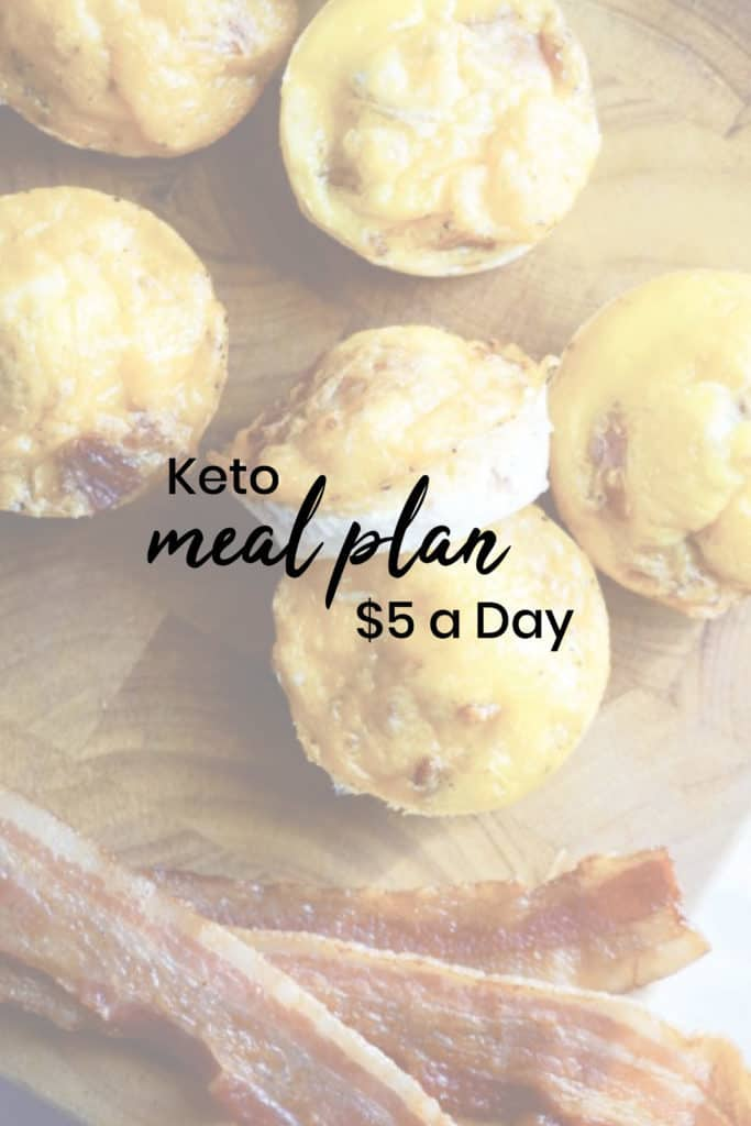 graphic relating to Printable Keto Meal Plan identify Keto upon a Price range $5 a Working day KETO Evening meal Application - KetoConnect