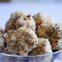 gluten free popcorn chicken bowl