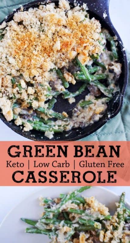 low carb green bean casserole pinterest