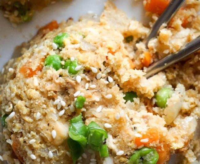 cauliflower fried rice featured