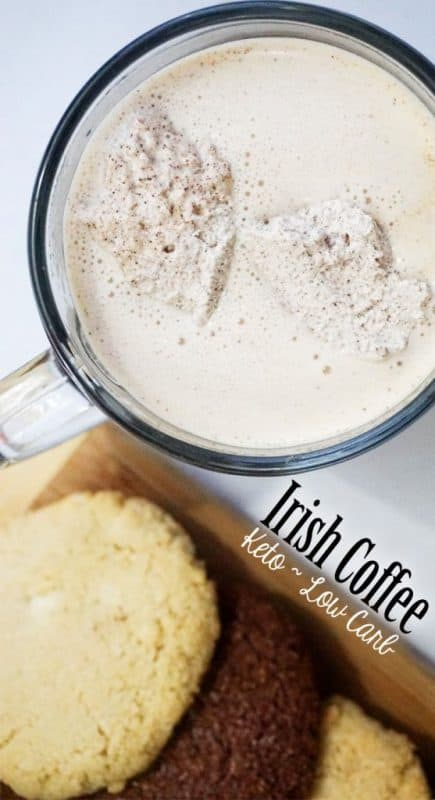 Low Carb Irish Coffee - Keto Cocktails!