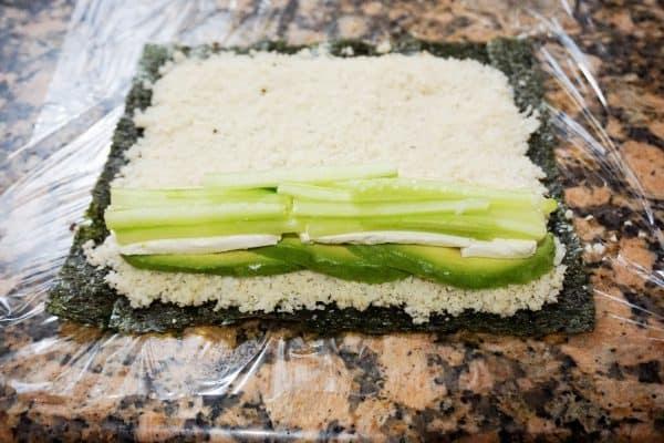 keto sushi cucumber