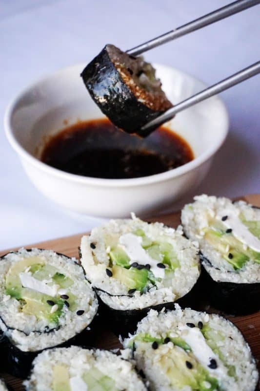 Ketogenic Sushi Rolls