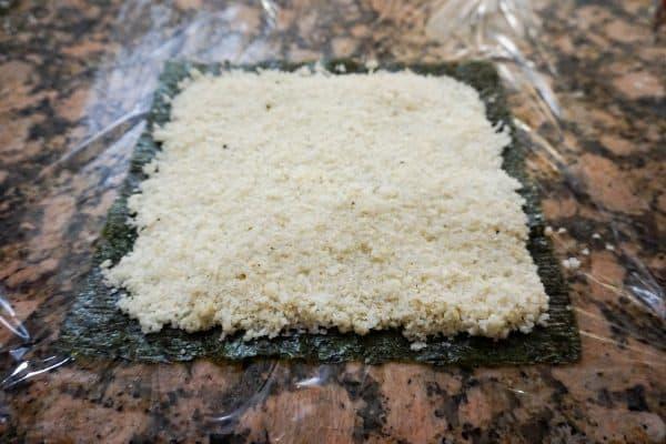 keto sushi rice