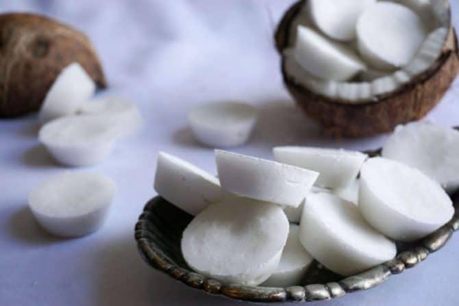 coconut fat bombs horizontal