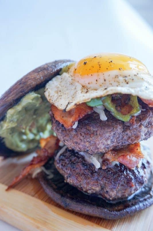 jalapeno burger top