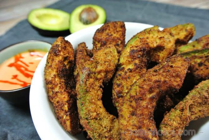 keto appetizers avocado fries