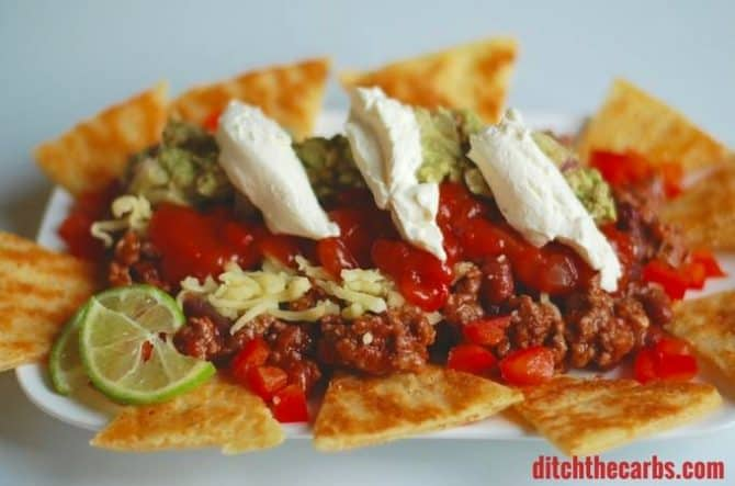keto appetizers fat head nachos KetoConnect