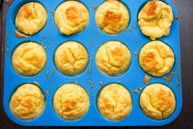 pasteles de ceto al horno