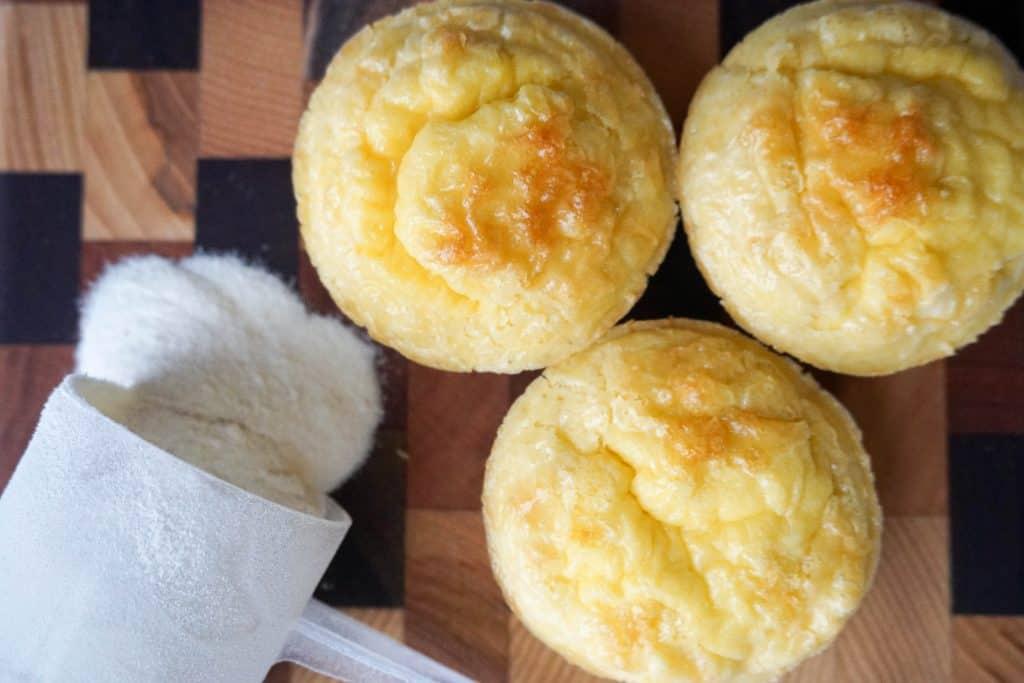 keto muffins horizontal