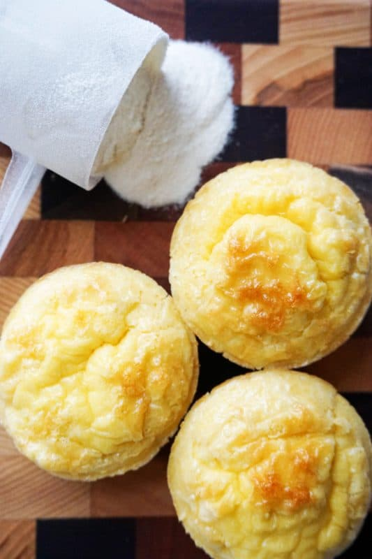 keto muffins vertical