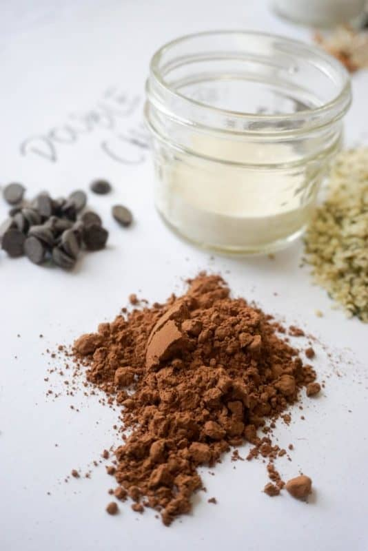 keto oatmeal chocolate ingredients