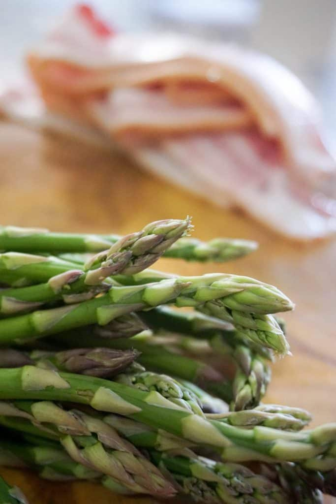 how to cook pancetta wrapped asparagus