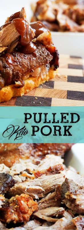 Our keto pulled pork recipe is delicious, and healthy. It is perfect for any sandwich or by itself!