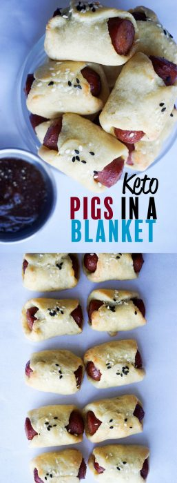 Keto Pigs in a Blanket! Kid friendly keto recipe. Big kids too :)