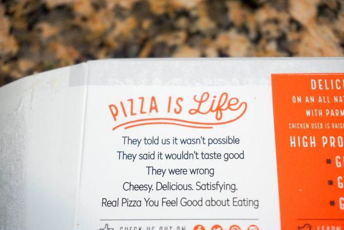 real good pizza coupon box info