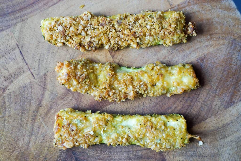 zucchini fries three