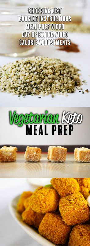 vegetarian keto pin