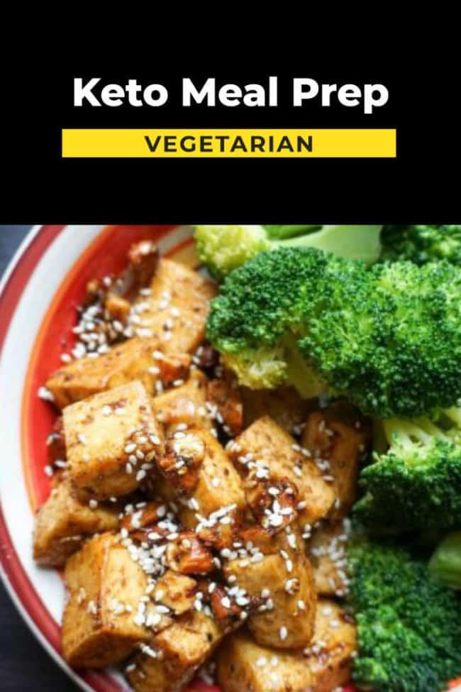 Vegetarian keto