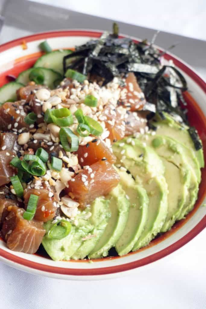 Ahi Poke Bowl Side