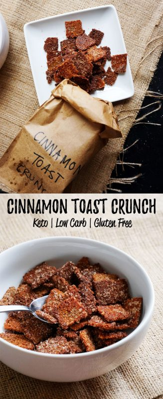 Welcome back cereal into your low carb life with out low carb cereal version of cinnamon toast crunch!