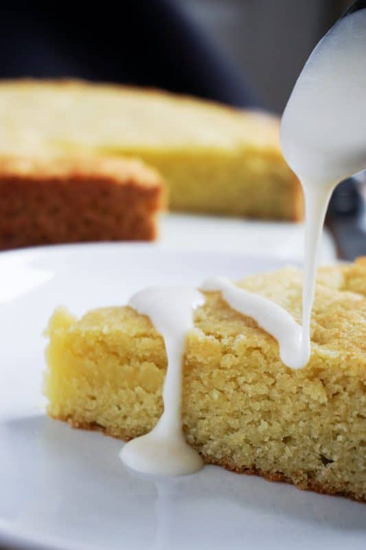 We've created a moist and dense keto olive oil cake that will be the perfect sweet ending to any meal!