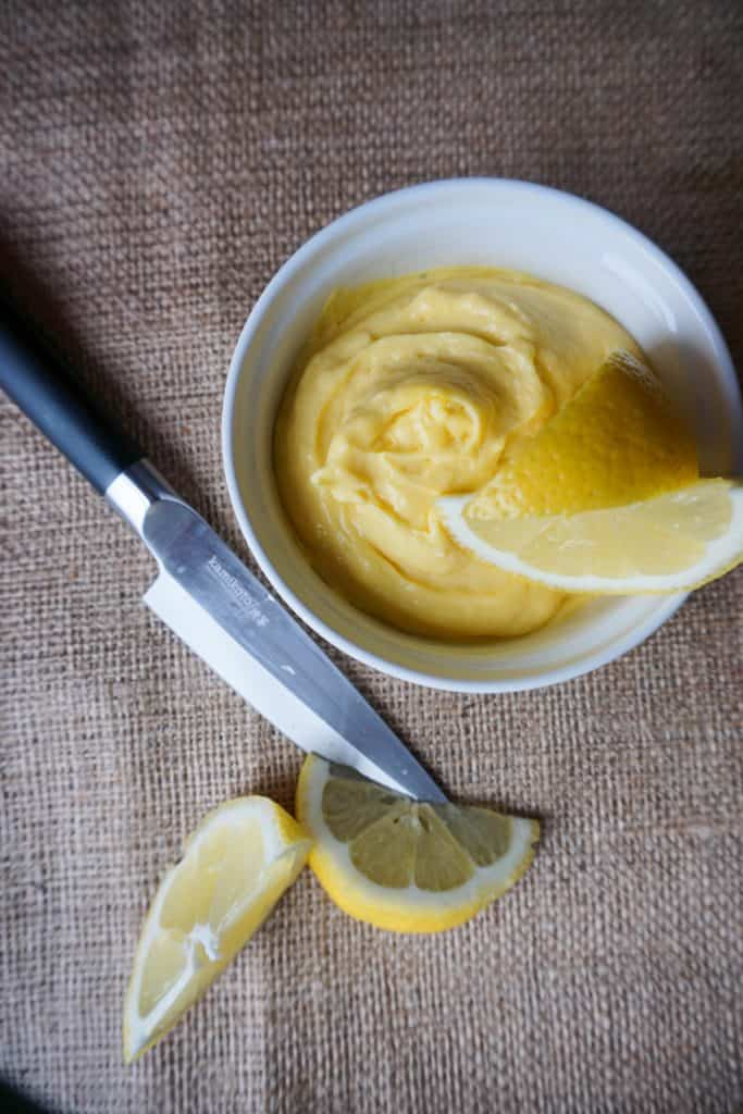 This Low Carb Lemon Custard is a refreshing, high fat treat perfectly suited for a keto diet!