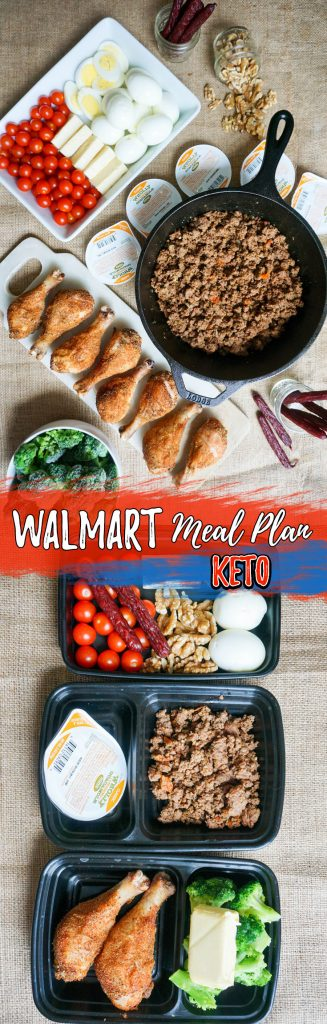 This Walmart keto meal prep plan is perfect for a variety of calorie levels! We have many low carb meals in this guide that are perfect to prep for later!