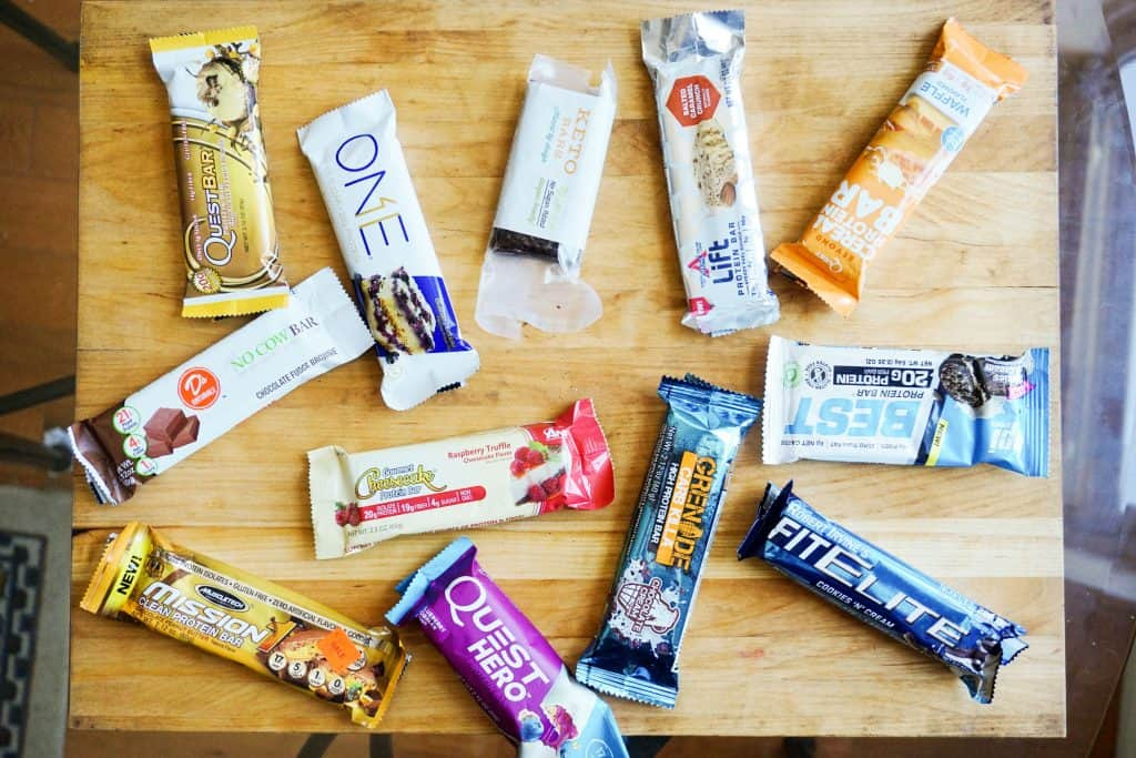 low carb protein bars all bars