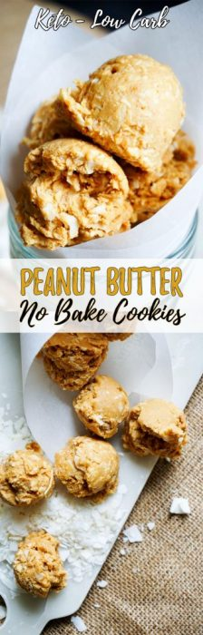 Make these No Bake Peanut Butter Balls next time you're looking to satisfy you're sweet tooth for a quick to whip up, fatty dessert!