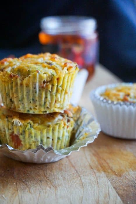 These savory keto pizza zucchini muffins are going to be your new favorite on the go snack and will never be dry or flavorless!