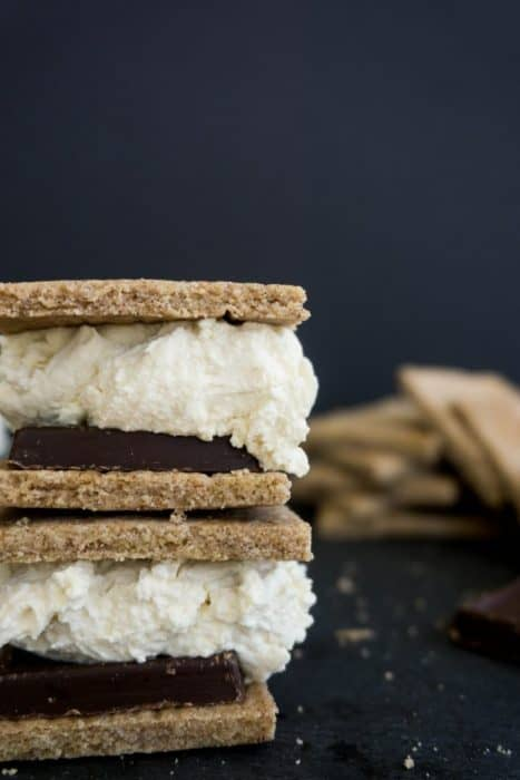 These easy to make, sugar free, keto, graham crackers make the perfect smores and will be a hit with the entire family!