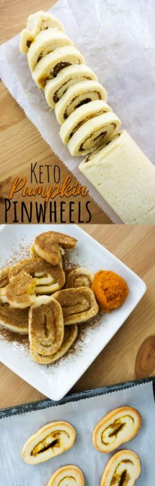 Our Healthy Keto Pumpkin Cookies are a great low carb alternative to your typical holiday season desserts!