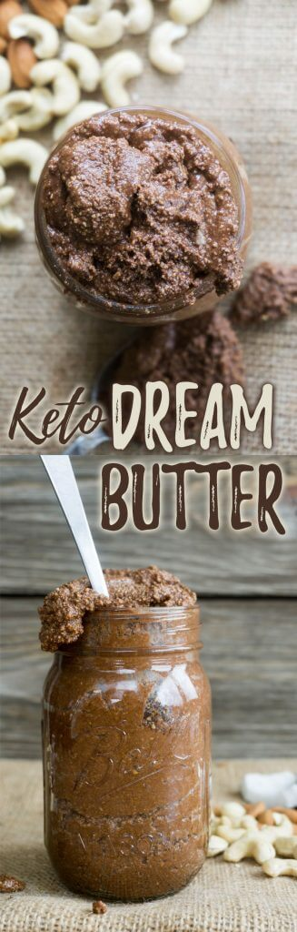 Keto Dream Butter made with almonds, cashews and coconut oil!