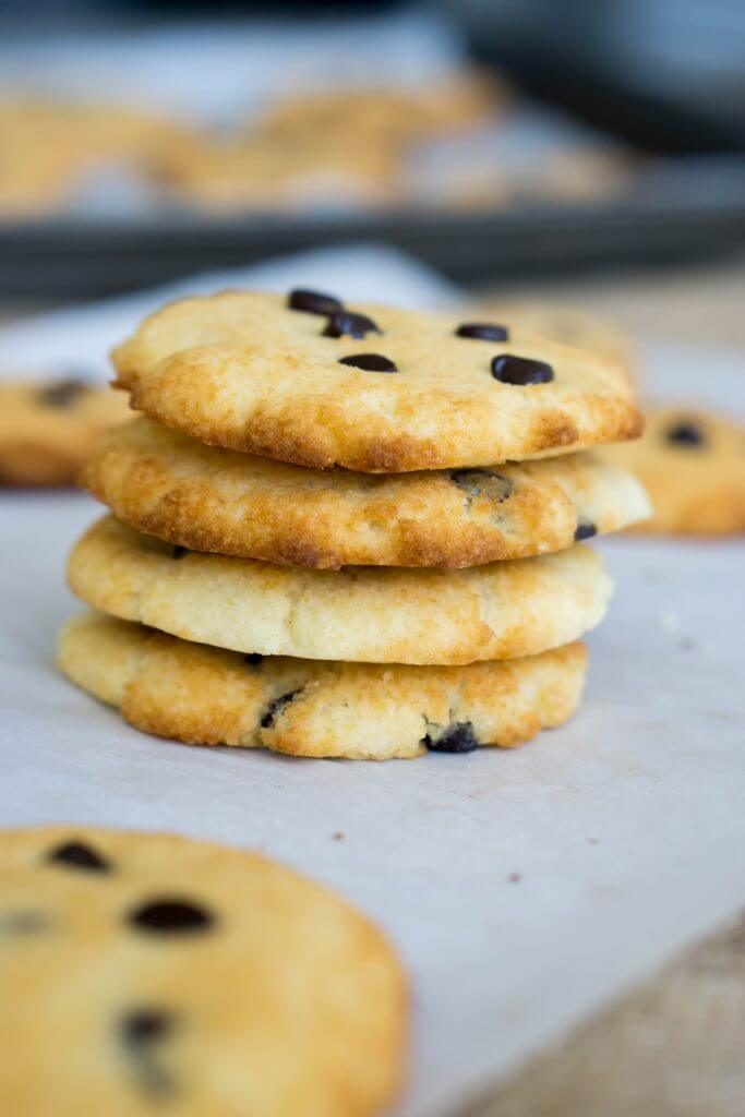 Our Keto Coconut Flour Chocolate Chip cookies are the perfect balance of guilt free and chewy goodness!