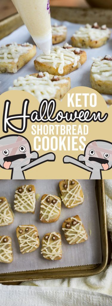 Our Easy Halloween Cookies are low carb and keto friendly so that you can indulge in Halloween treats and make it a family affair!