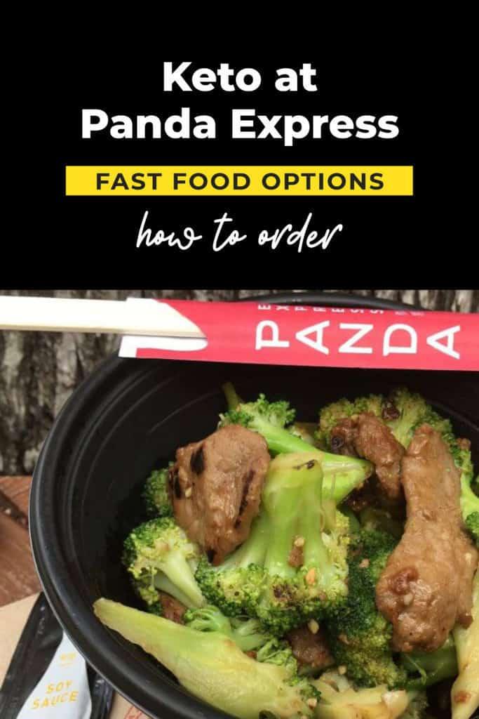 learn how to order keto at panda express