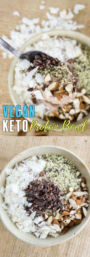 Our Keto Vegan Protein Breakfast Bowl will become a new staple in your household no matter your love for meats and dairy!