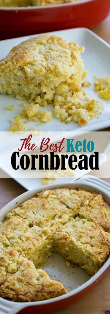 Our Low Carb Cornbread uses baby corn and sharp cheddar to create the perfect side dish to your holiday dinner this year!