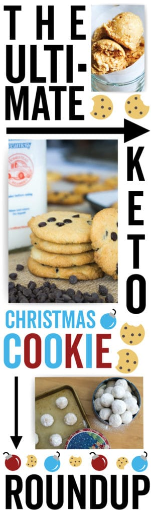 We round up our ultimate Keto Christmas Cookies for the holiday season so you can indulge this year and every year forward!